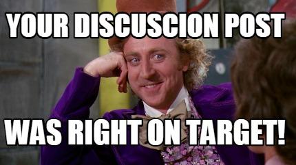 discussion meme